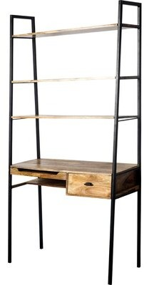 Cecil 17 Stories Solid Wood Leaning/Ladder Desk 17 Stories
