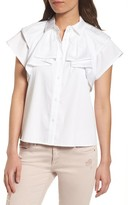 AG Jeans Women's Marina Stretch Cotton Top