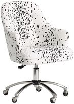 Tufted Desk Chair, Dalmatian