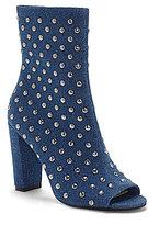 Jessica Simpson Elara3 Denim Studded Open Toe Booties