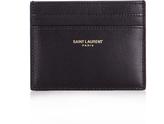 Saint Laurent Smooth-leather cardholder