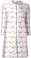 Giambattista Valli floral jacquard coat