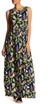 Tommy Bahama Sleeveless Floral Print Maxi Dress