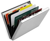 Magicmoon Ultra Thin Aluminum Metal Wallet-RFID Blocking Credit Card Holder for Men Woman