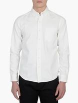 Edwin White Cotton Shirt