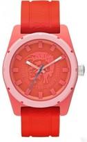 Diesel Men's DZ1627 Stainless Steel Coral Silicone Strap Watch