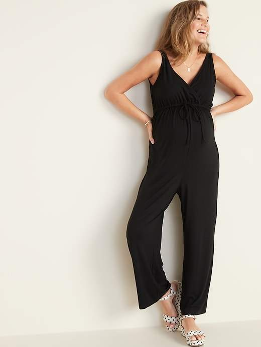 91f5bee50b07a Old Navy Black Maternity Clothes - ShopStyle