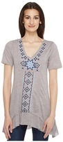 Roper 0945 Short Sleeve Jersey Tunic Women's Blouse