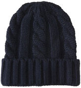Aeropostale Mens Cable Knit Cuffed Beanie