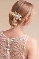 BHLDN Silver Petals Clip