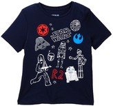 Mighty Fine Star Wars Doodle Tee (Toddler & Little Boys)