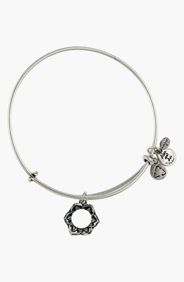 Alex and Ani Queens Crown Expandable Wire Bangle