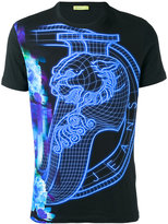 Versace patterned T-shirt - men - Cotton/Spandex/Elastane - L