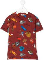Dolce & Gabbana baseball printed T-shirt - kids - Cotton - 4 yrs