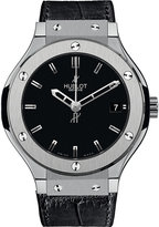 HUBLOT 565.nx.1170.lr classic fusion leather watch