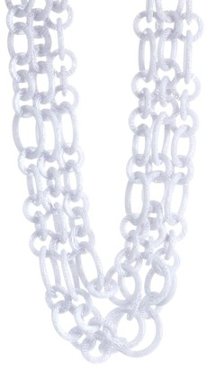 Lele Sadoughi Broadway Tiered Chainlink Necklace