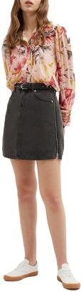 French Connection Pepper Denim Mini Skirt