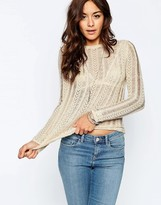 Asos Sweater with Vintage Pointelle Look