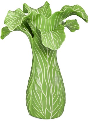 Tory Burch Lettuce Ware Candlestick, Set Of 2