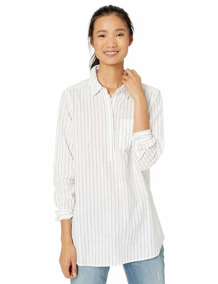 Goodthreads Amazon Brand Women's Washed Cotton Popover Tunic