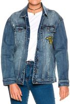 Rusty Go Bananas Denim Jacket