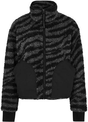 Varley Napoli Zebra-print Faux Shearling Jacket