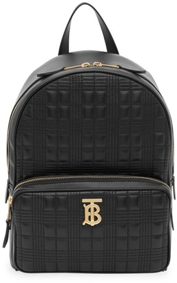 Burberry TB Quilted Leather Backpack