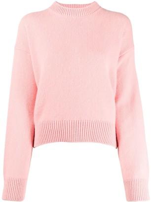 Laneus crew-neck knit sweater
