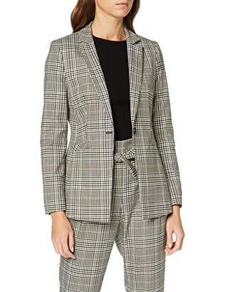 S'Oliver BLACK LABEL Women's 11.9.54.3821 Suit Jacket, (Grey/Black Check 99N1), 8 UK