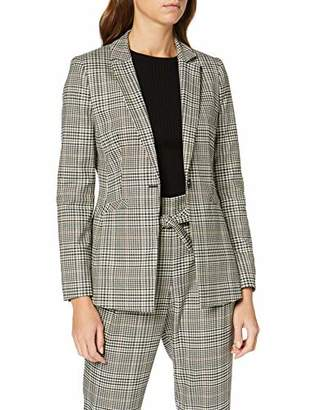 S'Oliver BLACK LABEL Women's 11.9.54.3821 Suit Jacket, (Grey/Black Check 99N1), UK