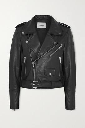 Deadwood - + Net Sustain Joan Leather Biker Jacket - Black