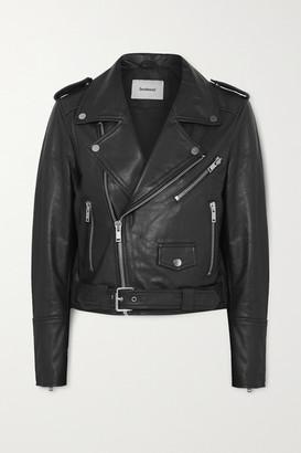 Deadwood + Net Sustain Joan Leather Biker Jacket - Black