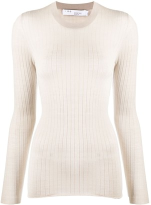IRO Ribbed Fitted Jumper