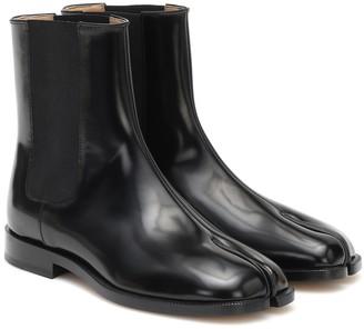 Maison Margiela Tabi leather Chelsea boots