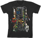 Bioworld Black LEGO® Ninjago Black Tee - Boys