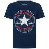 Converse ConverseNavy Logo Print Top