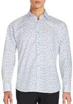 Jared Lang Cotton Button-Down Shirt
