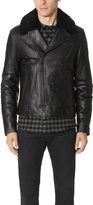 Mackage Roan Leather Moto Jacket