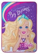 """Mattel Barbie Throw Blankets (46""""x60"""")"""