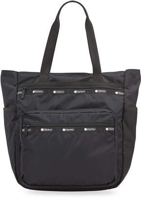 Le Sport Sac Monroe Nylon Zip-Top Tote Bag