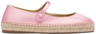 Prada Espadrille Ballerina Shoes