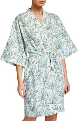 Bedhead Pajamas Spring Bloom Floral Short Kimono Robe