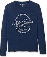 Pepe Jeans Boy's JESS JR Long Sleeve Top,6 Years ()