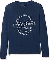 Pepe Jeans Boy's JESS JR Long Sleeve Top,7 Years ()