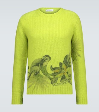 Valentino knitted crewneck sweater