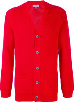 Lanvin ribbed cardigan - men - Polyamide/Wool - XS