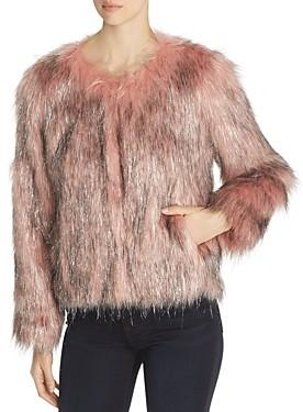 Bogner Fire & Ice Unreal Fur Fire & Ice Short Faux Fur Coat