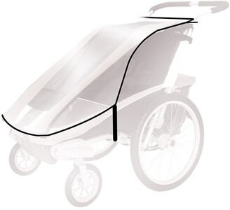 Thule Protective Rain Cover for Chariot Cheetah 2 Stroller