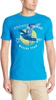 G.H. Bass Men's Short Sleeve Sunset Beach Graphic Tee