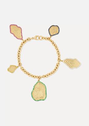 Kimberly Mcdonald McDonald - 18-karat Gold Multi-stone Bracelet